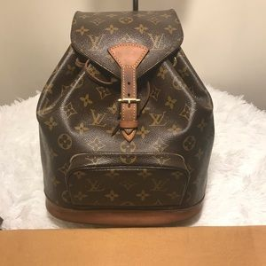 LV Montsouris PM Backpack(sale today only)